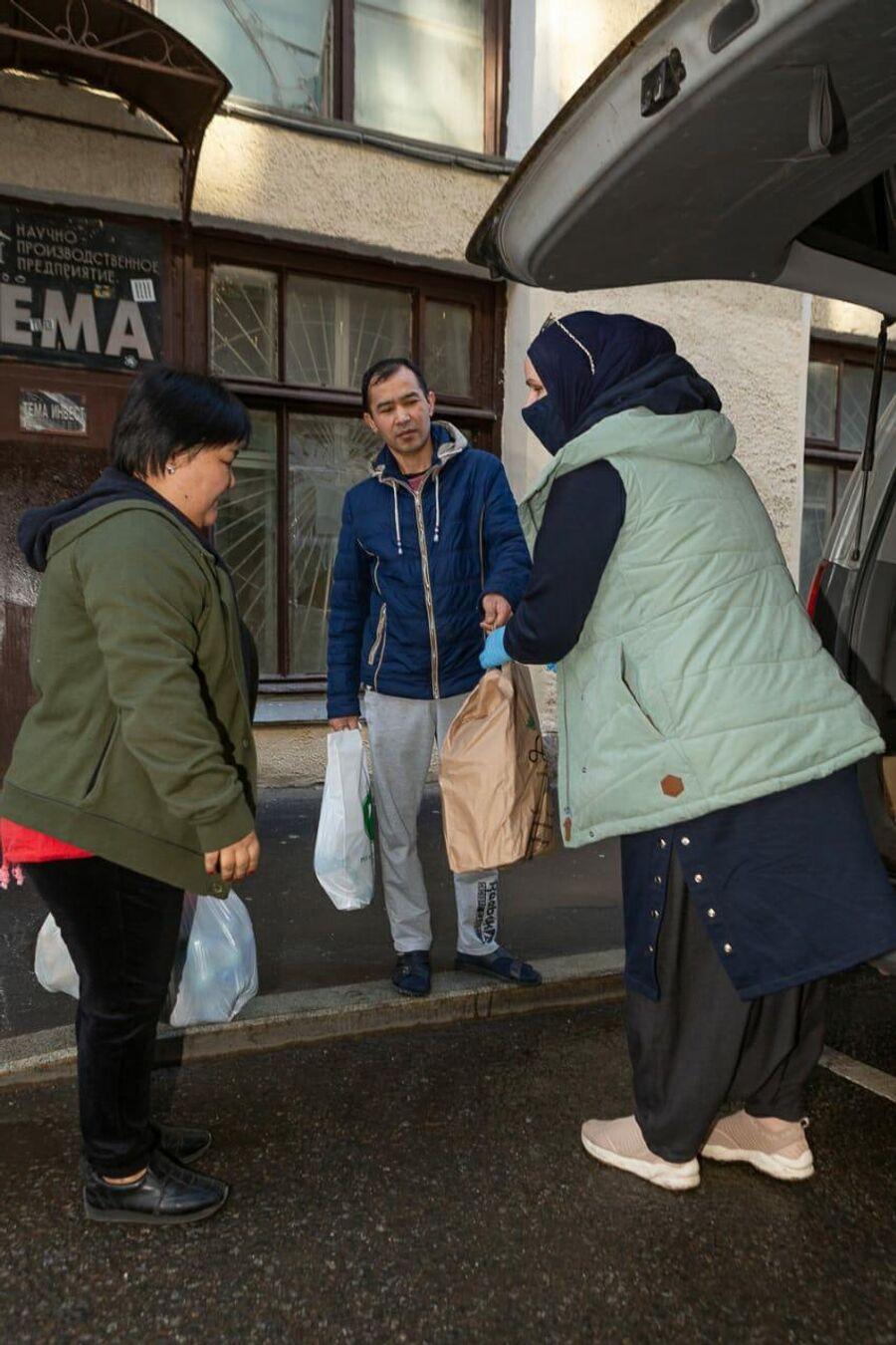 Гуманитарная помощь мигрантам от Дома Доброты
