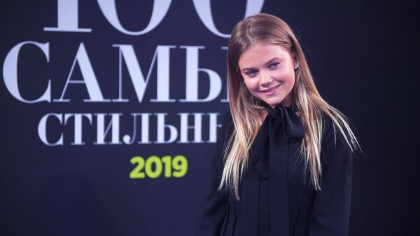 Модель, телеведущая Мария Ивакова