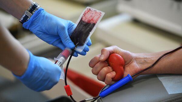 Забор крови у донора в Москве
