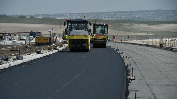 Строительство трассы Таврида в Крыму