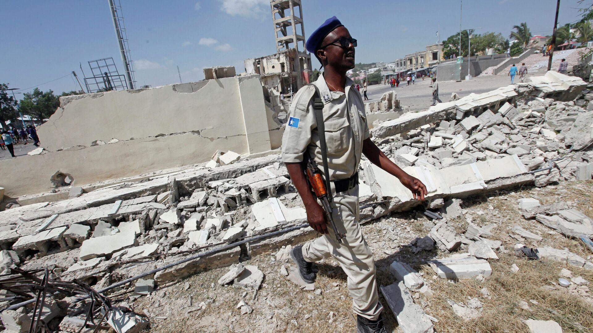 Боевики атаковали четыре базы миссии Африканского союза в Сомали