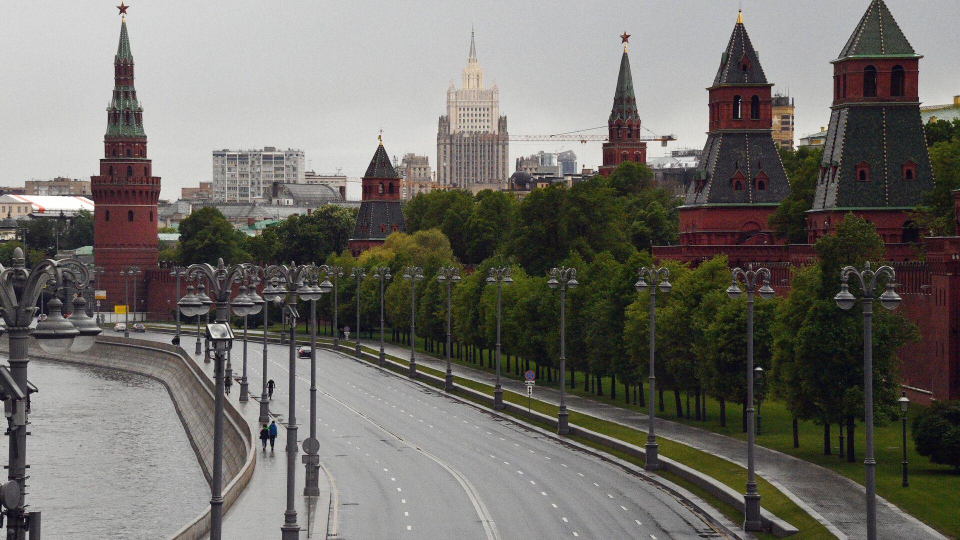 Кремлевская набережная в Москве - РИА Новости, 1920, 28.07.2021