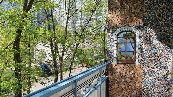 Москвичка своими руками преобразила свой балкон