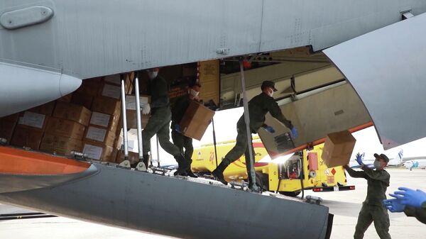 В Красноярск прибыли самолеты со специалистами Минобороны для борьбы с коронавирусом