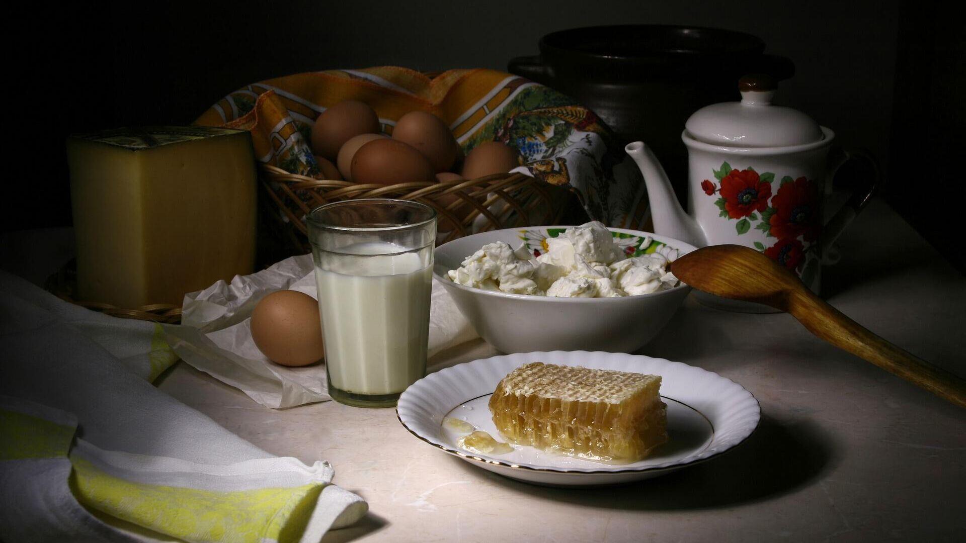Русский завтрак  - РИА Новости, 1920, 12.10.2020