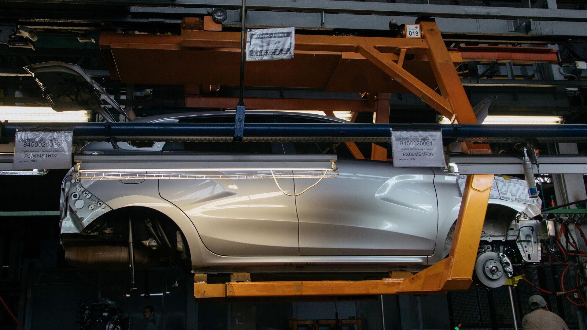 Презентация новой Lada Granta  на заводе «АвтоВАЗ» в Тольятти - РИА Новости, 1920, 30.07.2021