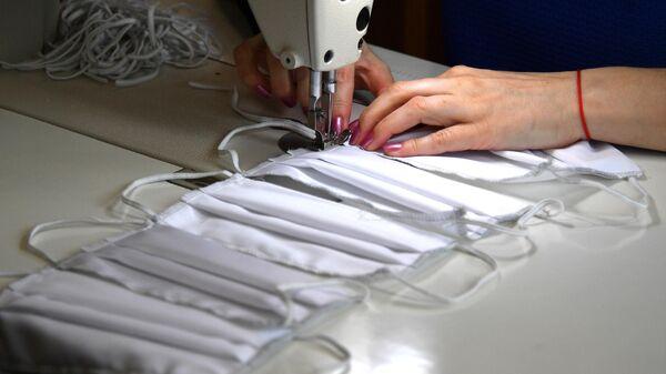 Пошив защитных масок в Минске