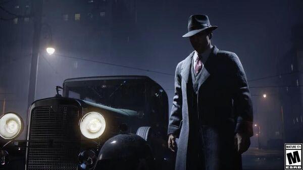 Кадр из трейлера к игре Mafia