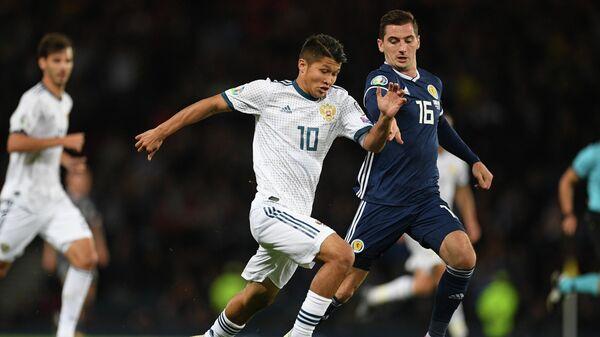 Футбол. Отборочный матч ЧЕ-2020. Шотландия - Россия