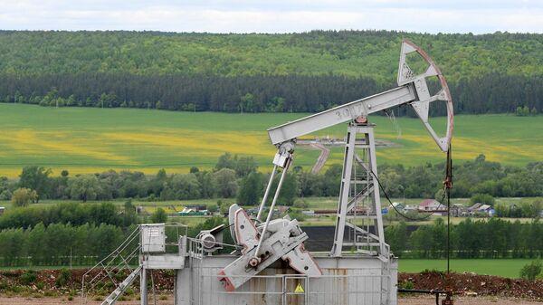 Нефтяной станок-качалка компании Татнефть