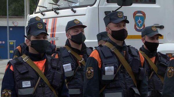 Подразделения Волжского спасательного центра направляются в Дагестан