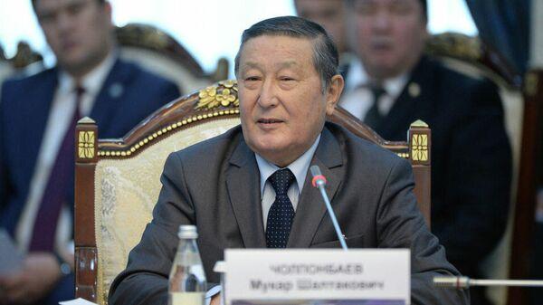 Экс-спикер Законодательного собрания Киргизии Мукар Чолпонбаев