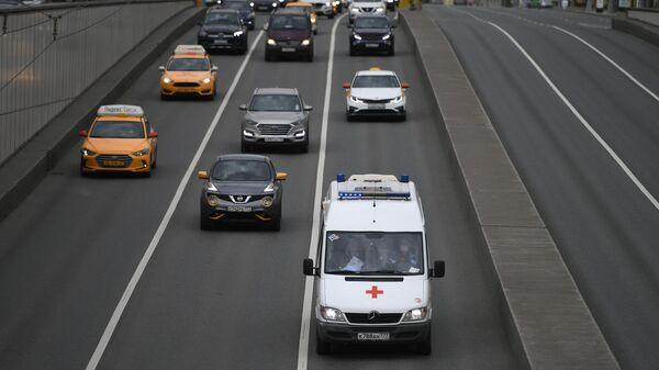 Автомобиль скорой помощи в Москве