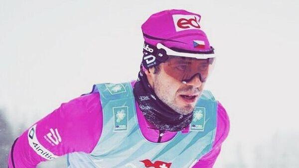 Лыжник Илья Черноусов (Россия)