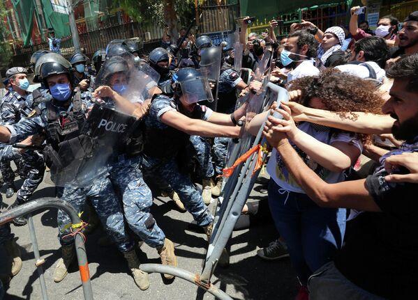 Акции протеста в Бейруте, Ливан