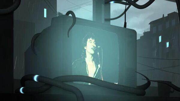 Скриншот видео группы КИНО Мама, мы все тяжело больны