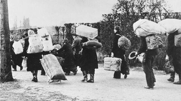 Беженцы, 1945 год