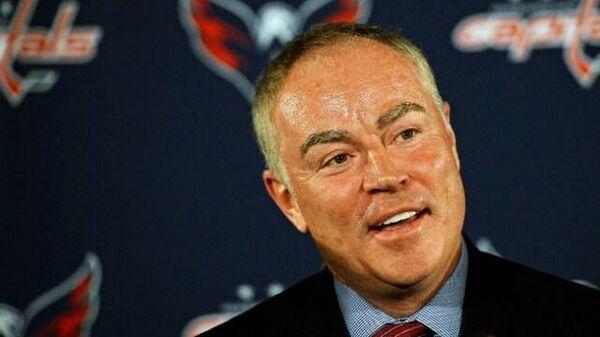 Генеральный менеджер клуба НХЛ Вашингтон Кэпиталз Брайан Маклеллан