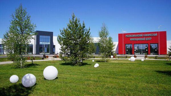 Новый клинико-диагностический инфекционный центр, открытый на территории индустриального парка Зубово  в Уфимском районе