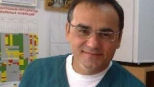 Реаниматолог-анестезиолог центральной городской клинической больницы Калининграда Ридван Абдураманов