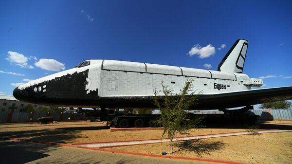 Космический корабль Буран в музее истории космодрома Байконур