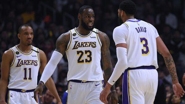 Игроки клуба Национальной баскетбольной ассоциации (НБА) Лос-Анджелес Лейкерс