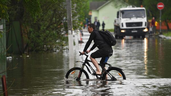 В Подмосковье около 480 участков остаются в зоне подтопления после дождей
