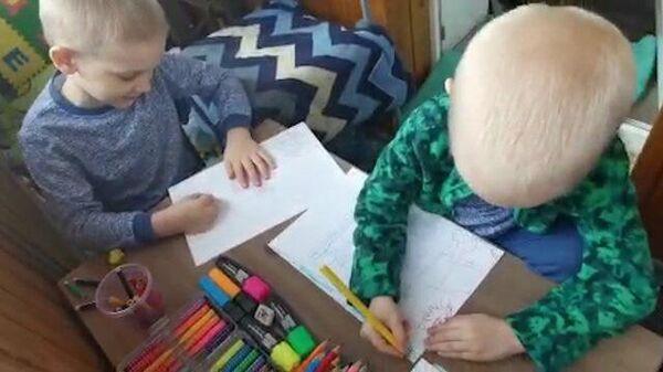 «Испарись, коронавирус!»: творчество ребят во время самоизоляции