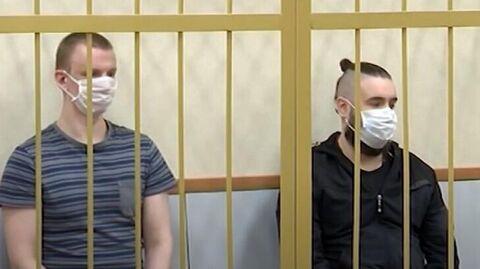 Обвиняемые в убийстве подростка Марков (слева) и Николаев (справа)