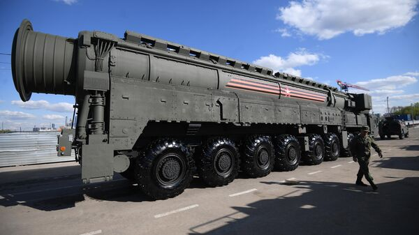 Автономная пусковая установка ПГРК Ярс