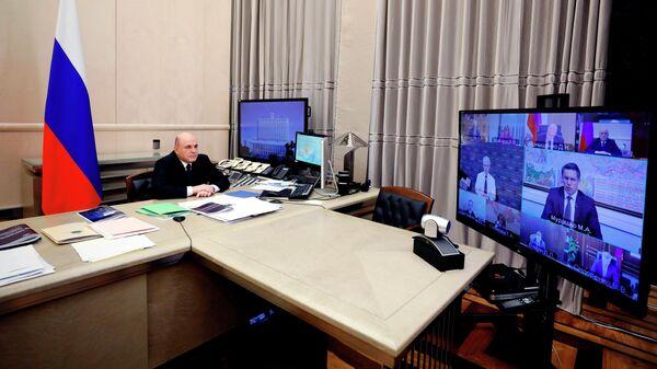 Премьер-министр РФ Михаил Мишустин провел заседание Координационного совета по борьбе с коронавирусной инфекцией