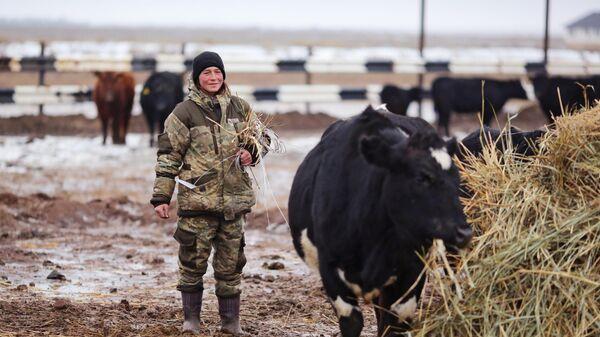 Сотрудница крестьянско-фермерского хозяйства