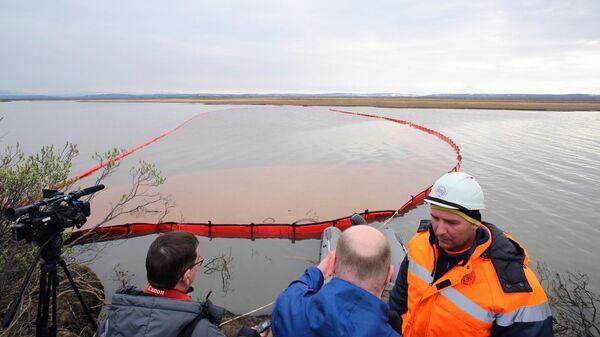 В Красноярском крае ввели ЧС федерального уровня после разлива топлива