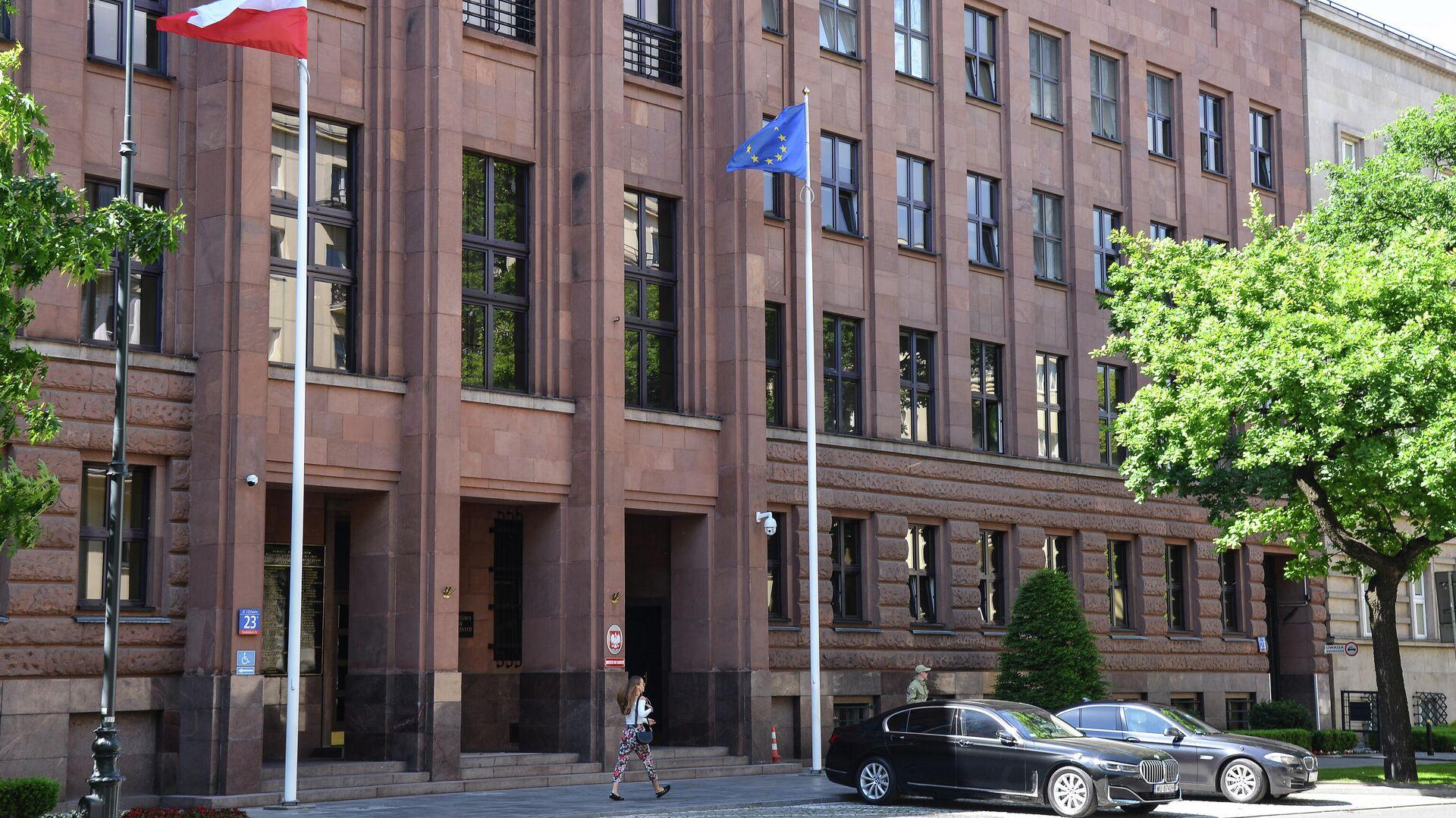Здание МИД Польши в Варшаве - РИА Новости, 1920, 10.03.2021