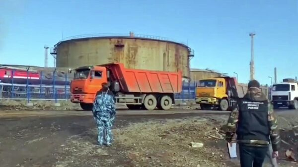 Сотрудники Следственного комитета РФ проводят следственные мероприятия на территории ТЭЦ-3