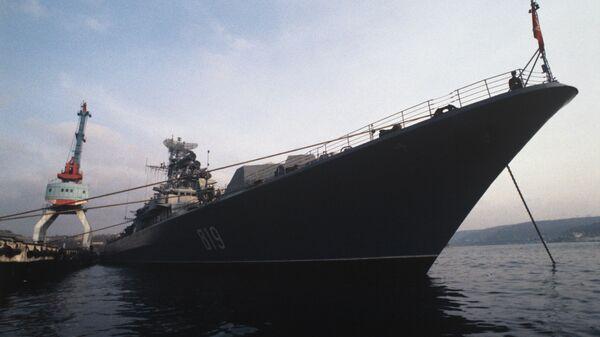 Один из кораблей Черноморского флота ВМФ России