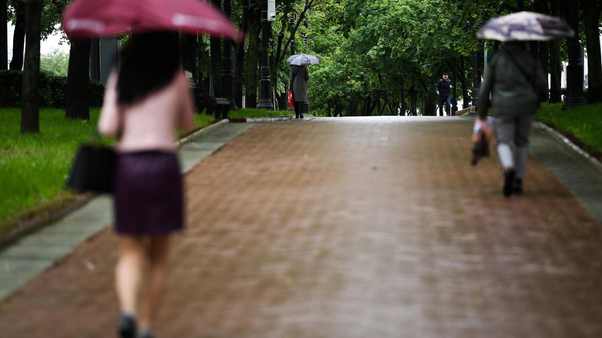 В Москве во вторник ожидаются кратковременные дожди с мокрым снегом