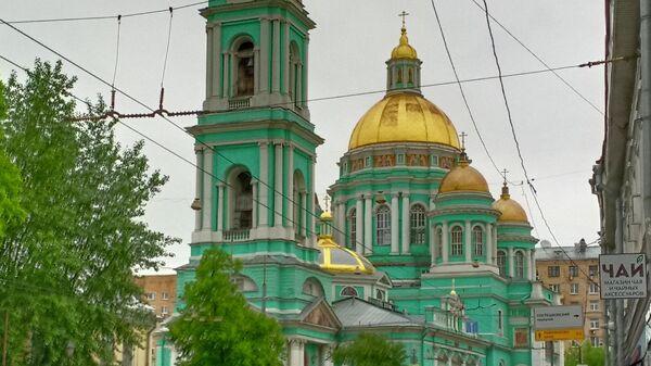 Богоявленский собор в Елохове. Москва