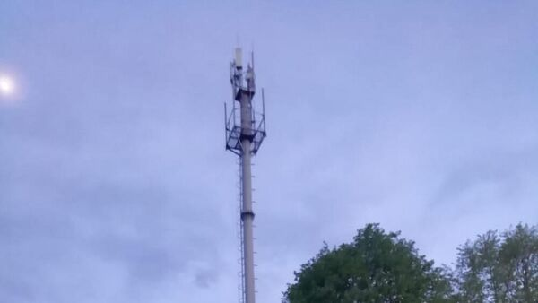 Вышка сотовой связи в селе Ногир