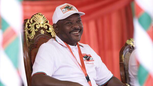 9-й Президент Бурунди Пьер Нкурунзиза