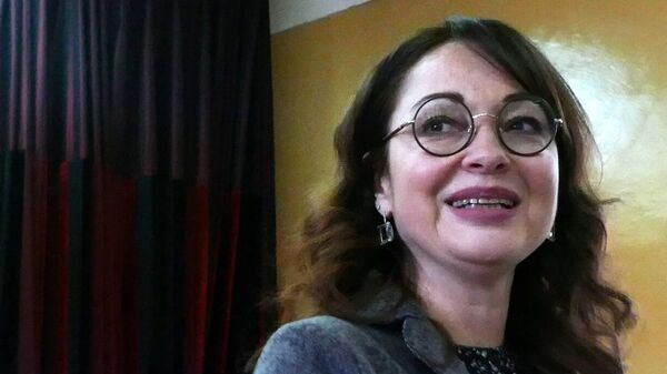 Российская актриса Виктория Тарасова
