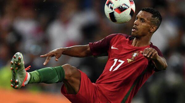 Игрок сборной Португалии Нани