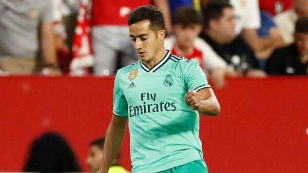 Полузащитник мадридского Реала Лукас Васкес в матче против Севильи