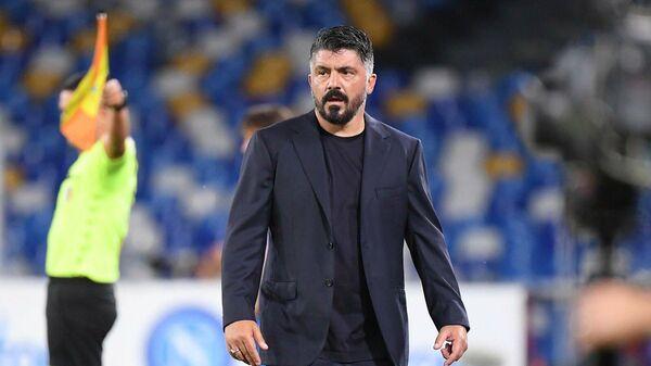 Главный тренер футбольного клуба Наполи Дженнаро Гаттузо
