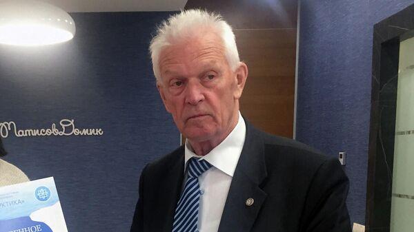 Президент Арктической академии наук и председатель Арктического совета Ассамблеи народов Евразии профессор Валерий Митько