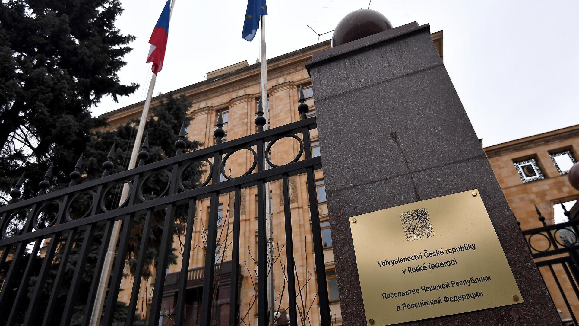 Здание посольства Чехии на улице Юлиуса Фучика в Москве - РИА Новости, 1920, 15.06.2020