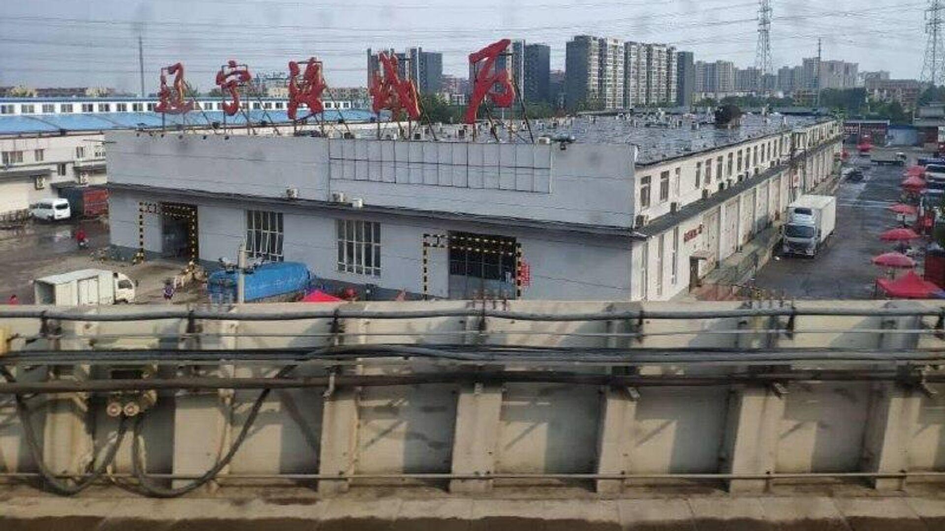 Оптовый рынок Синьфади в Пекине - РИА Новости, 1920, 16.06.2020