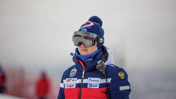 Главный тренер сборной России по горнолыжному спорту Анастасия Попкова