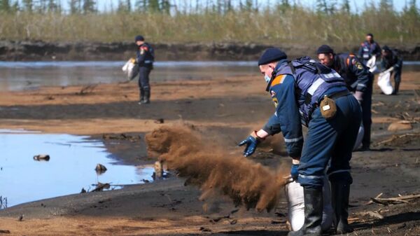 Минприроды оценило ущерб водным арктическим ресурсам от ЧП в Норильске