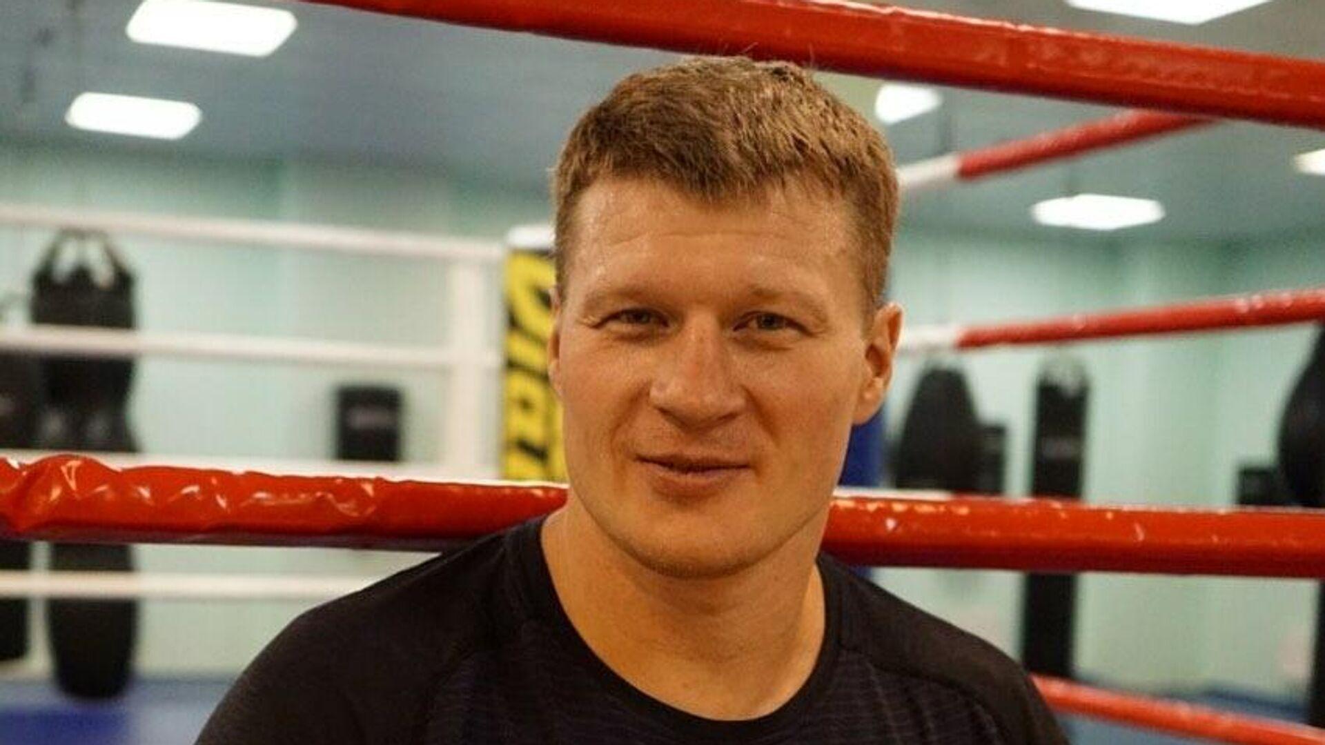Российский боксер Александр Поветкин - РИА Новости, 1920, 23.12.2020